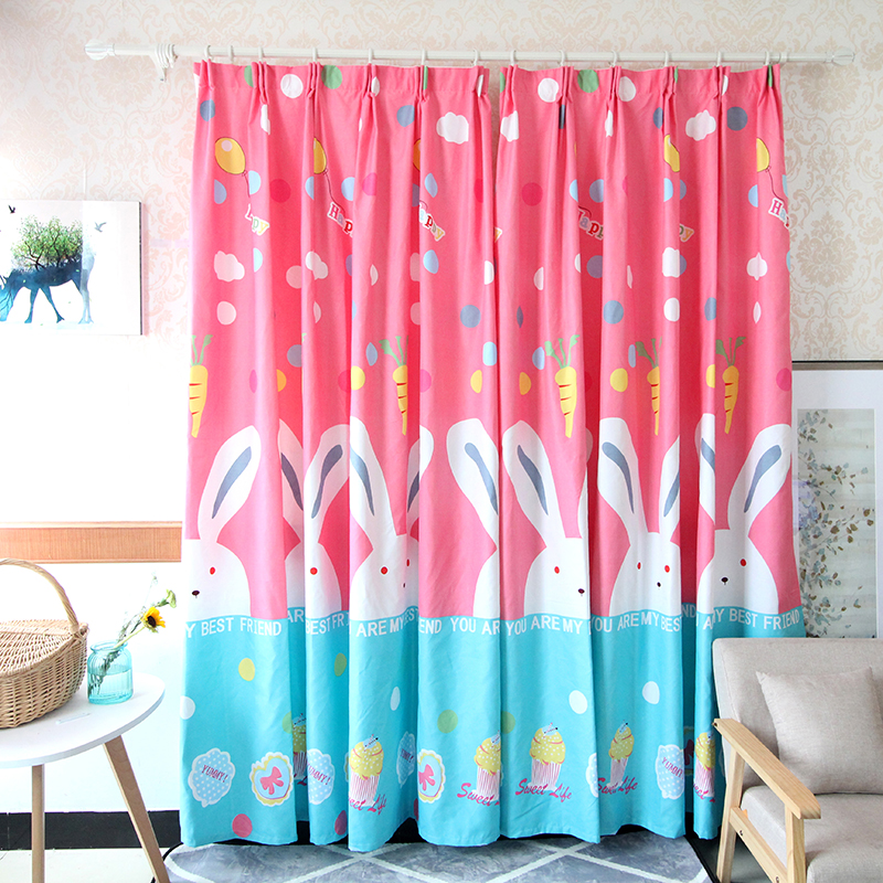 Custom partition curtain semi-shade simple modern living room ...