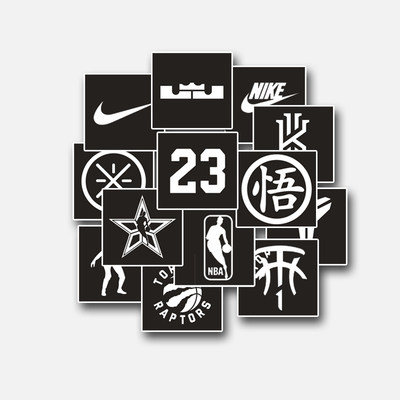 AS hollow sticker pattern DIY sneaker template inkjet Lakers hand-painted tools to cover the paper star series