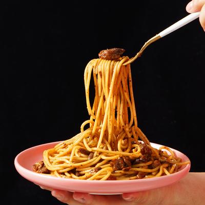 【新品】大希地意大利面奶油培根番茄黑椒意面低脂家用意粉速食