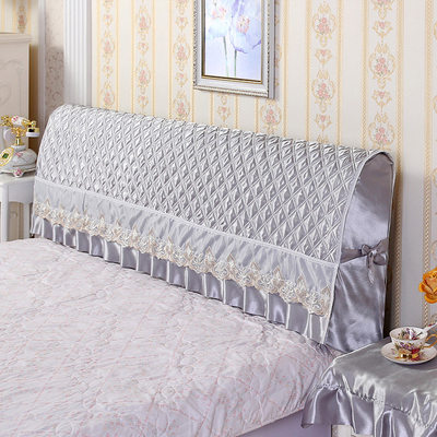 All-inclusive bed cover bed cover dust cover 1.5m1.8m simple and modern leather bed soft cloth cloth quilted protective cover