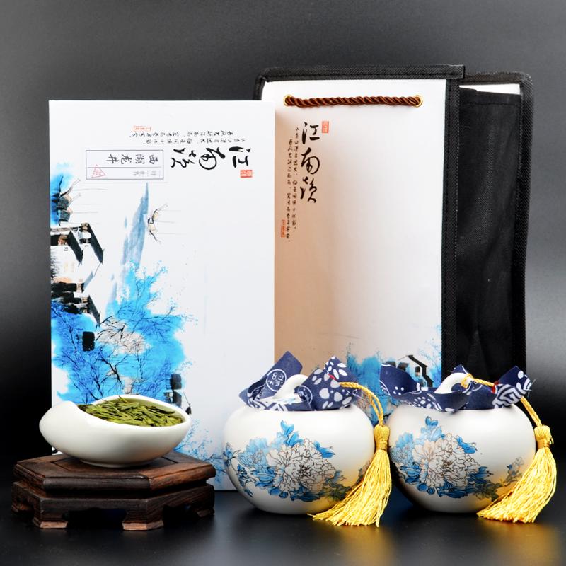 2019新茶西湖高山礼盒装正宗绿茶礼品茶叶龙井特级送礼雨前包邮