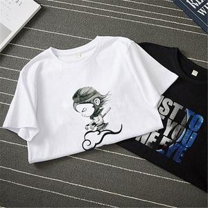 纯棉【爆卖100W件】印花短袖T恤