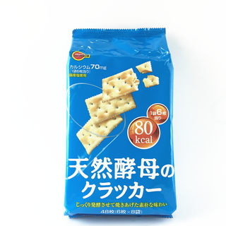 Japan imported Bourbon Boolean natural yeast salted biscuit snacks low calories 147g cookies 48 pieces