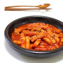 Korean fried rice cake authentic Korean spicy fried rice cake Strip