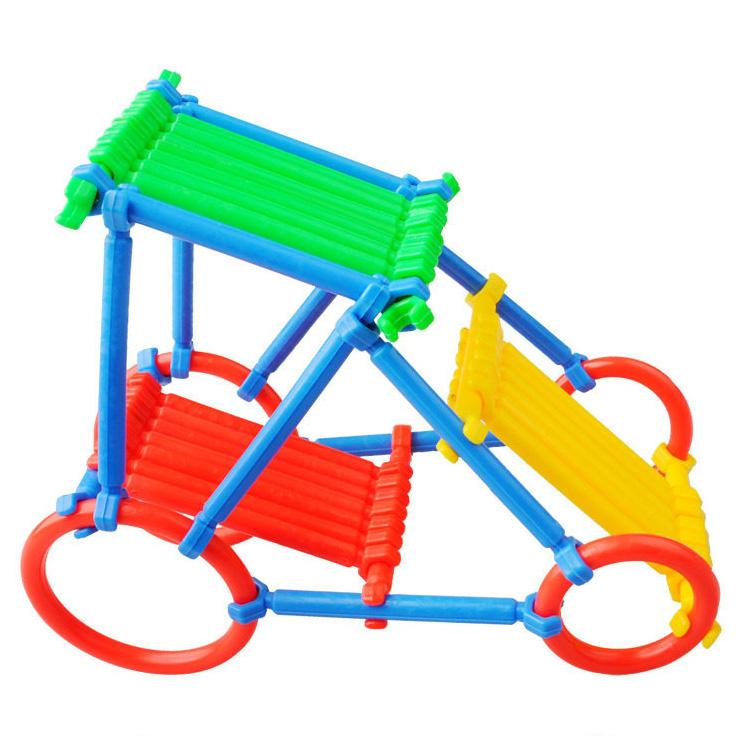 积木聪明棒积木拼插拼装塑料幼儿园特价儿童玩具益智早教桌面包邮