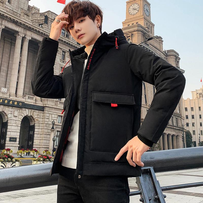 冬季棉衣男士新款2019冬裝青少年學生加厚棉服保暖外套棉襖冬天