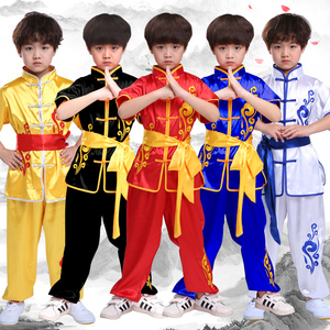 Boys Martial arts Kungfu & Tai-Chi Uniforms for Girls Children martial arts performance clothing training clothes embroidery dragon children competition martial arts performance clothing martial arts training clothes