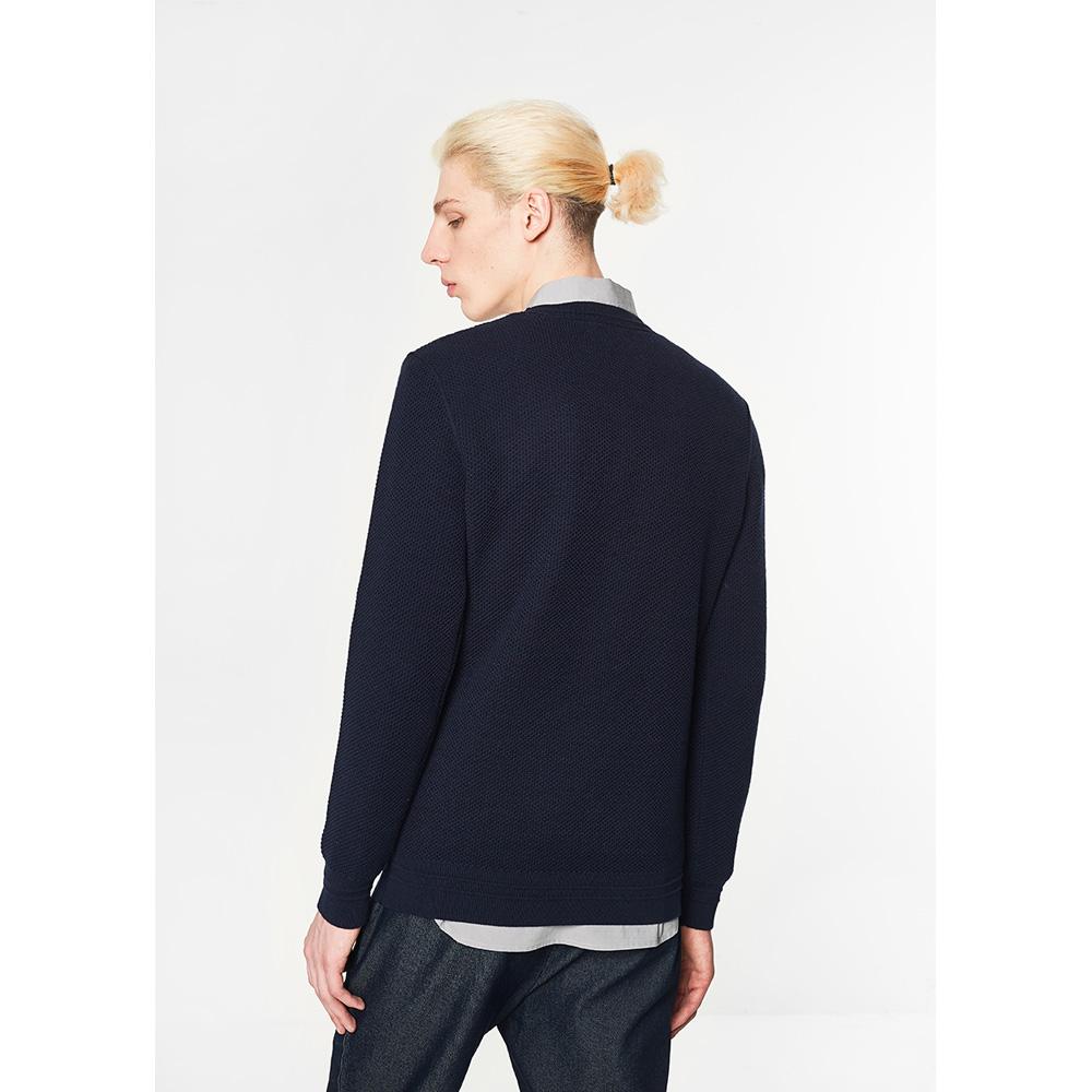 C & A nam rỗng lưới áo len mùa đông thoải mái giản dị áo thun CA200200471 Hàng dệt kim