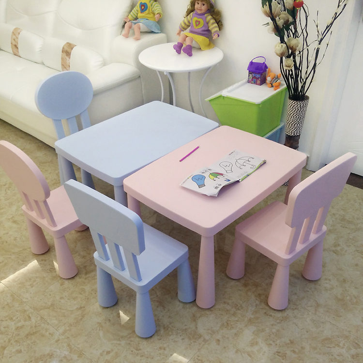 Double layer thickened childrenu0027s table u0026 chairs kindergarten table u0026 chairs childrenu0027s table u0026 chairs baby & USD 11.18] Double layer thickened childrenu0027s table u0026 chairs ...