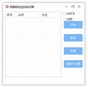 电脑版QQ全自动好友点赞yabovip10