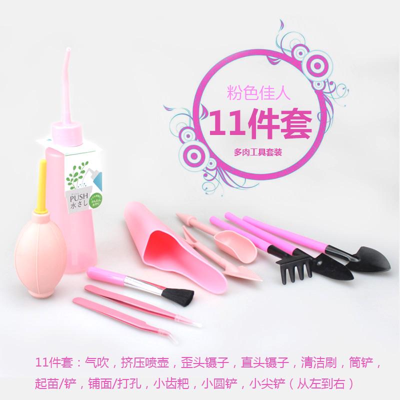 Розовый Мясные инструменты 11 наборы