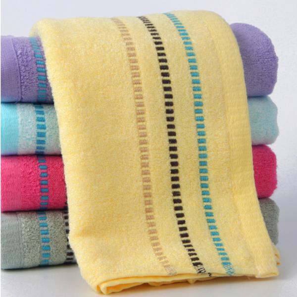 欧林雅竹毛巾v毛巾面巾洗脸巾儿童mjse3066纤维纤维竹纯色毛巾