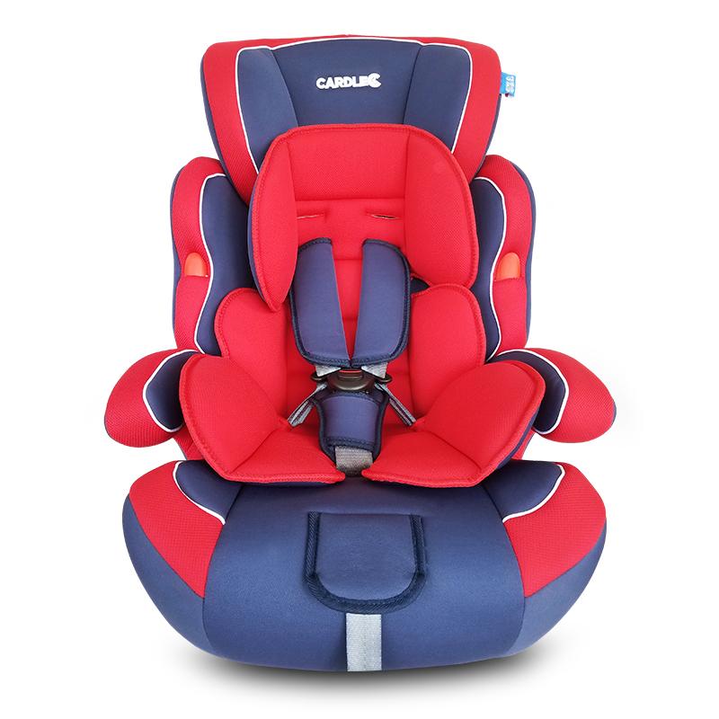 儿童安全座椅宝宝车载安全椅汽车用 9个月-12岁简易便携式通用