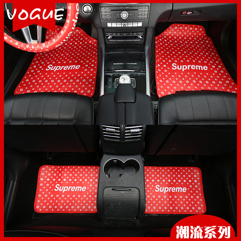 car floor mats for women. Chao Brand Men And Women Car Supplies Four Seasons Leather Foot Pad With General Floor Mats For E