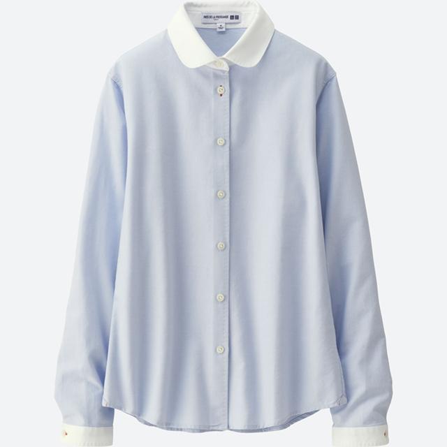 女装IDLF牛津纺衬衫(长袖)