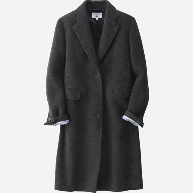 女装IDLF羊毛混纺大衣