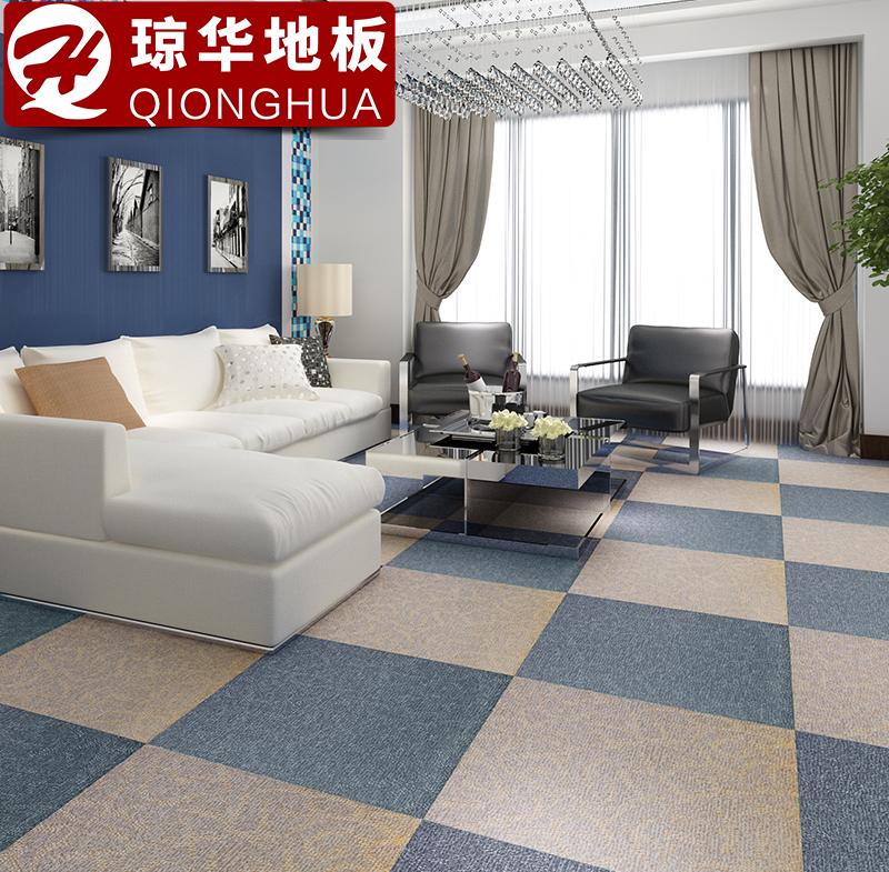 自粘PVC地板塑料地板胶家用地板革加厚耐磨防水卧室石塑地板贴纸