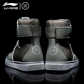 Li ning высокий обувь AJ мужская обувь осень и зима пробираться это дорога на липучках военно-воздушные силы один обувь casual кожа спортивной обуви, цена 2215 руб