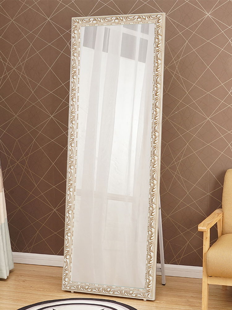 Full Length Mirror Solid Wood