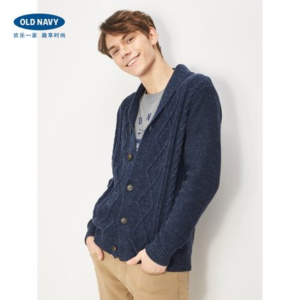 OLD NAVY 863399 男士加厚针织开衫 179元