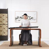 Горящее тунговое дерево копия Guqin стол резонанс цитра стол стул старый Tongmuqin стол стул пианино Guoxue Guqin стол стол каллиграфии