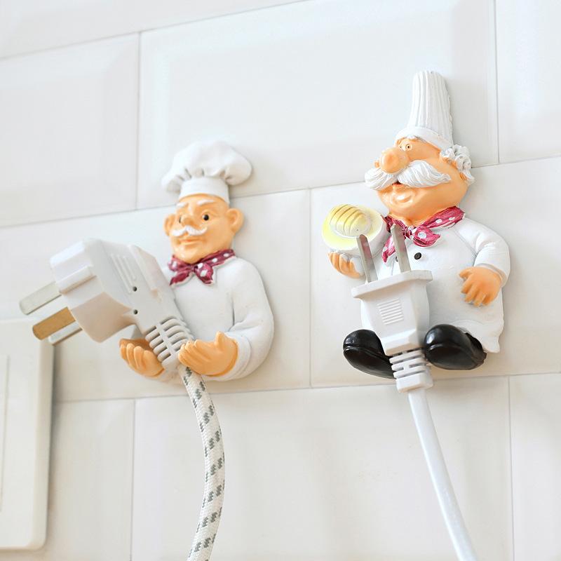 厨房置物架壁挂式免打孔家居用品微波炉v厨房工具小神器多功能实用