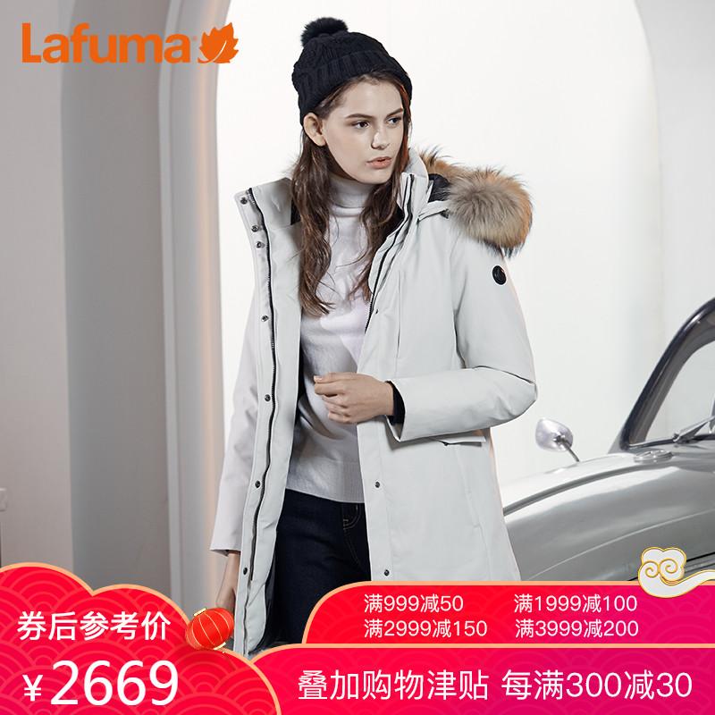 LAFUMA Le Feiye приталенный удерживающий тепло Гусиный пух женский популярный пуховик женщина фасон средней длины стиль LFJU7D421