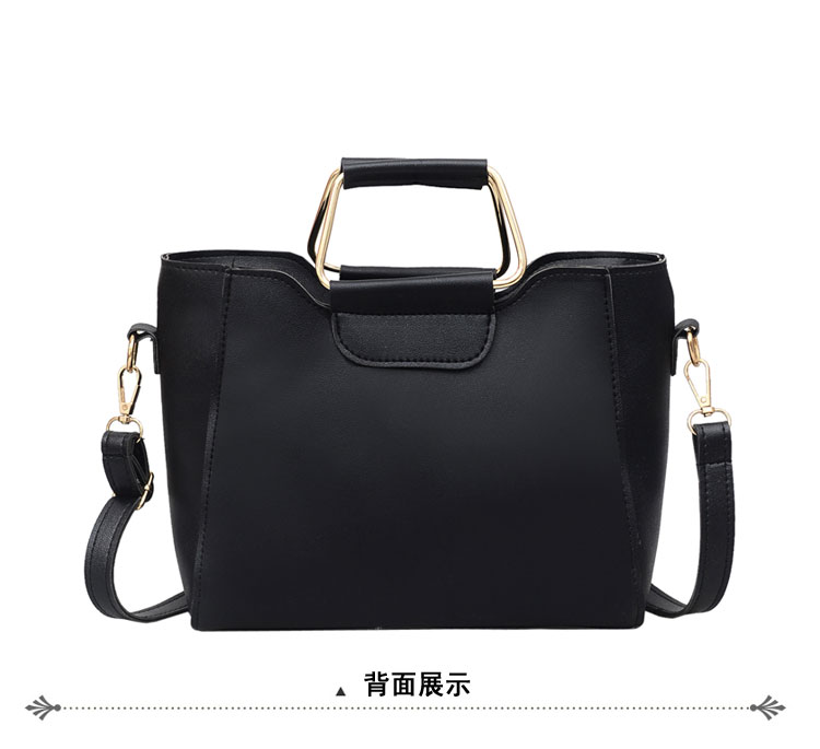 Women Bag Handbag Purse Ladies PU Leather Crossbody Bag 2Pcs/Leisure bag capacity big bag wholesale gray 22x21x10cm 23