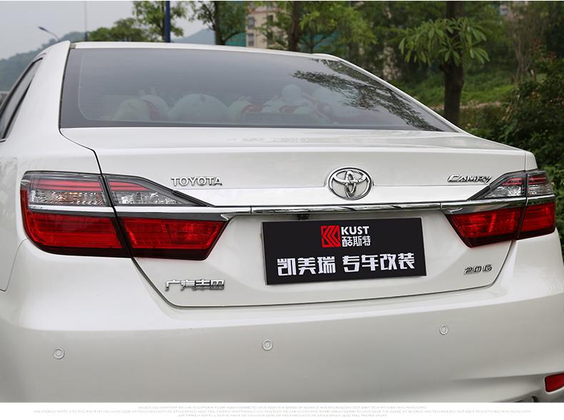 Nẹp trang trí viền nắp cốp Toyota Camry 2015-2017 - ảnh 8