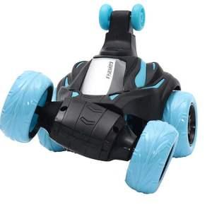 遥控汽车儿童玩具四驱专业遥控越野车模型特技翻滚漂移充电动男孩