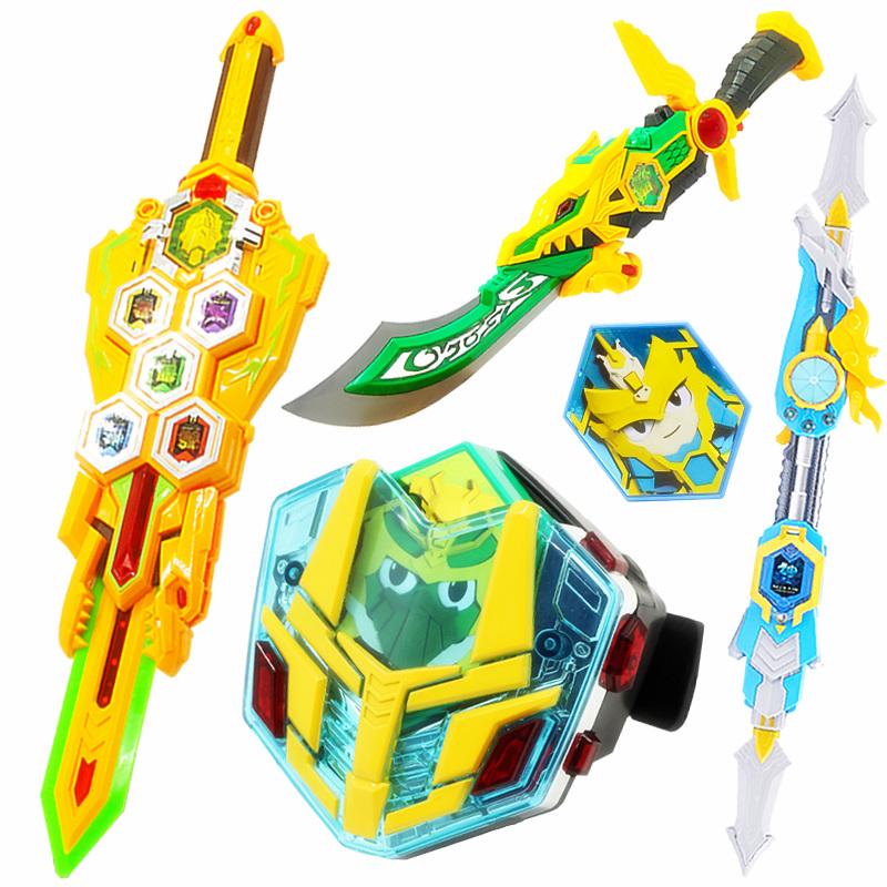 Genuine dream three heroes legendary weapons full imperial sword knife gun  6-8-10 years old boy toy
