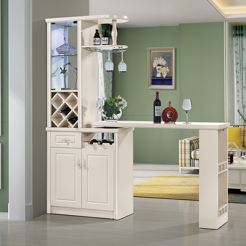 Home European Style Living Room Bar Bar Partition Cabinet Small Bar Table  Multi Function