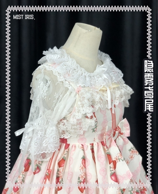 taobao agent 【Full pre-sale】-Hidden mist iris-summer ultra-thin lace with a lolita girl with a shirt