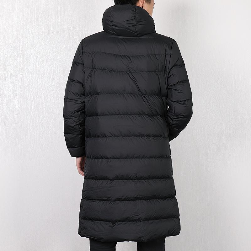 nike men's long down jacket