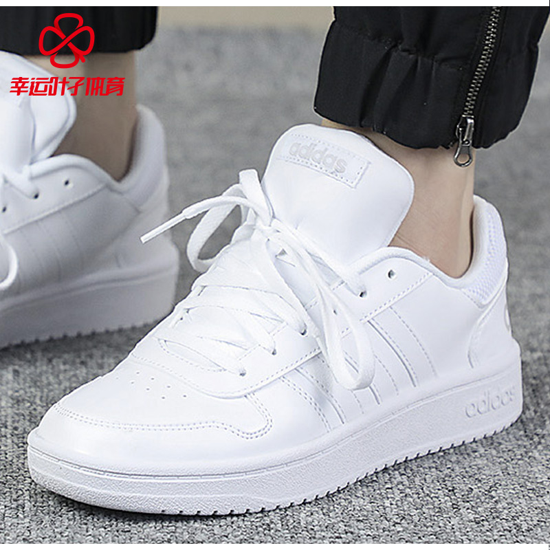 san francisco 02a84 f4d4c Adidas women s shoes 2019 spring new high to help men s shoes white shoes  casual shoes shoes