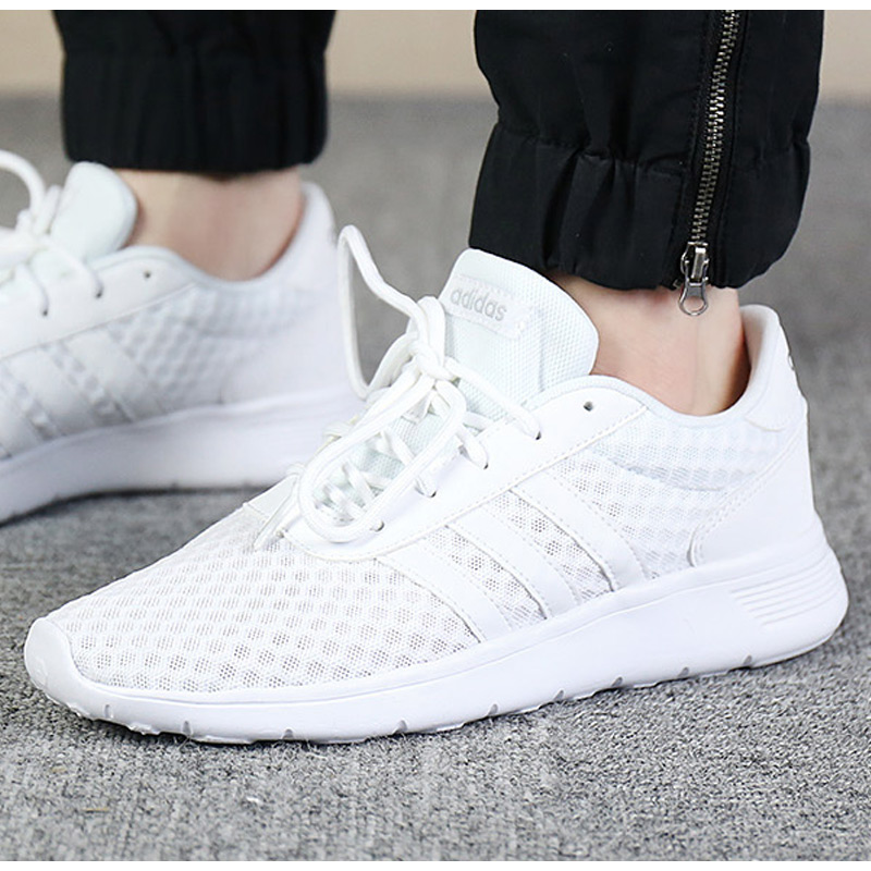 e7929ca69fa Adidas adidas women s shoes NEO breathable shoes 2018 autumn new mesh  casual shoes AW3837