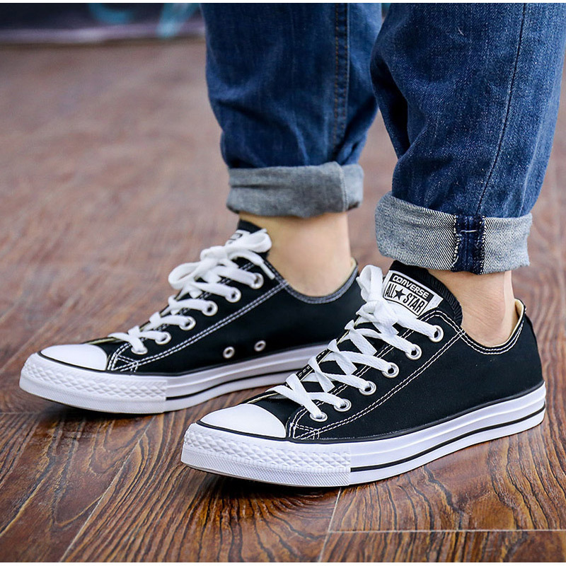 ba7027413ae0 Converse canvas shoes women s shoes men s shoes All Star spring high-top casual  shoes low to help sneakers shoes 101010