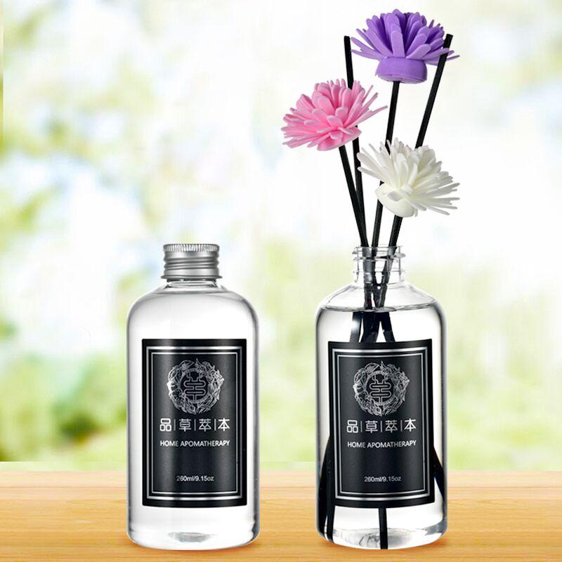 无火香薰精油补充液大瓶家用熏香卧室内持久空气清新剂香水味摆件
