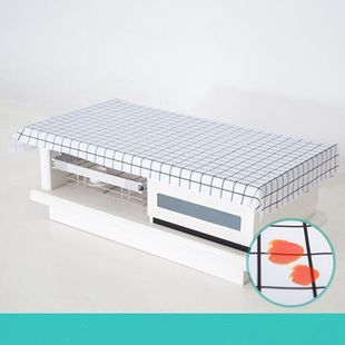 [Bo Hong] large size PVC oil repellent waterproof tablecloth