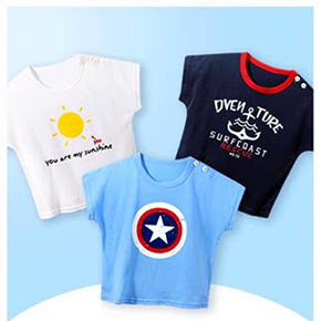 夏季韩版宝宝纯棉短袖T恤
