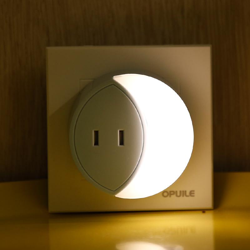 LED插电光控节能小夜灯