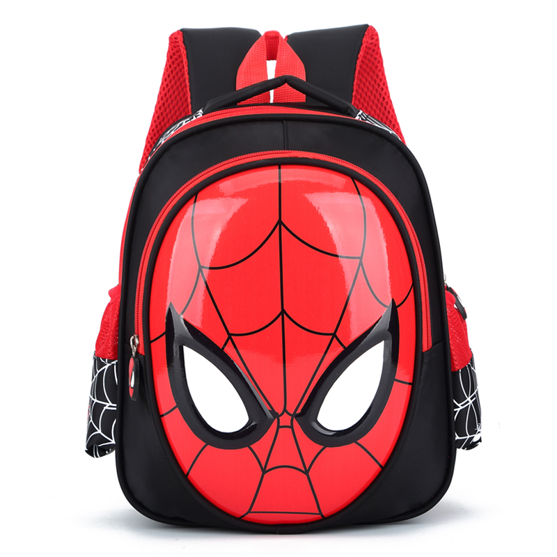Spiderman Black Red 2-5 Years Old
