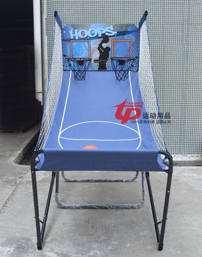 【興達生活】自動計分室內電子投籃機成人兒童單人雙人籃球架 投籃遊戲`3580