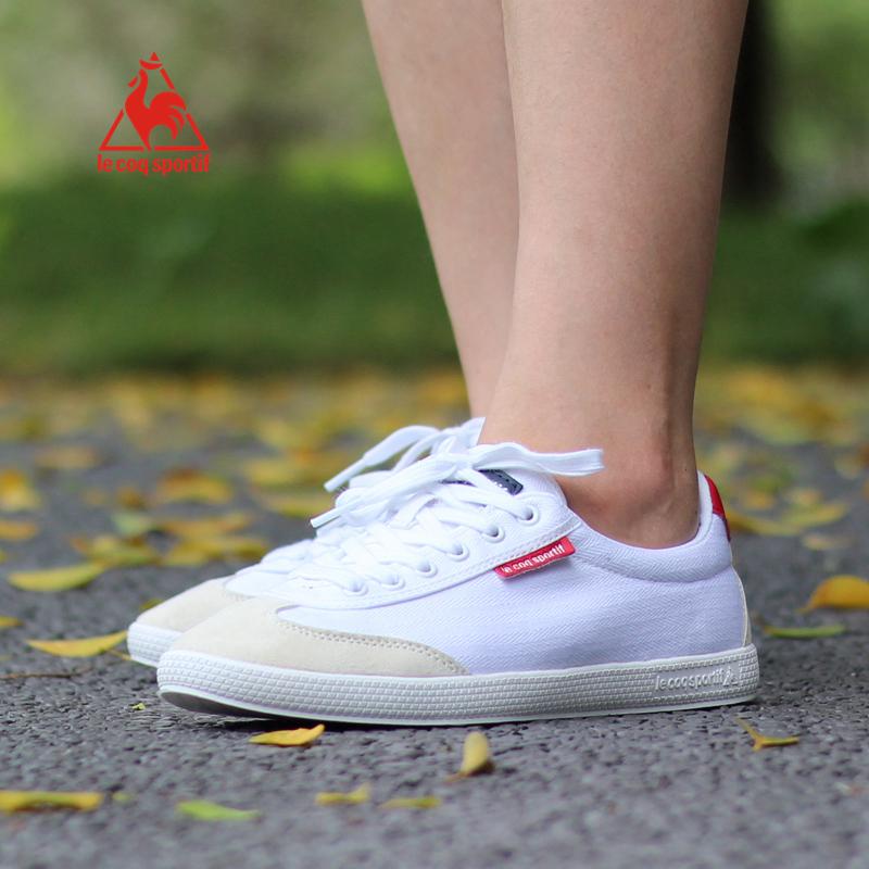 法国帆布公鸡夏新款男鞋鞋低帮运动韩版女休闲百搭小白板鞋