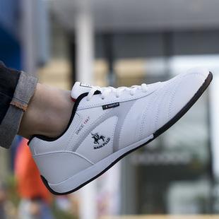 保罗品牌男鞋白色运动休闲鞋