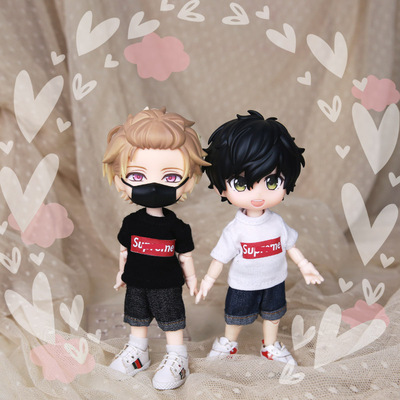 taobao agent swdoll 30,000 Dean ob11 printed T-shirt SUP clay GSC baby coat 12 points bjd