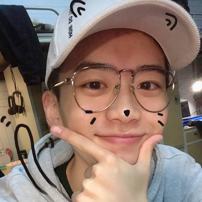 47142b1929a2 Fei Qiming with the same paragraph glasses frame male Korean version of the tide  retro glasses Female Network Red large round myopia eyes flat mirror
