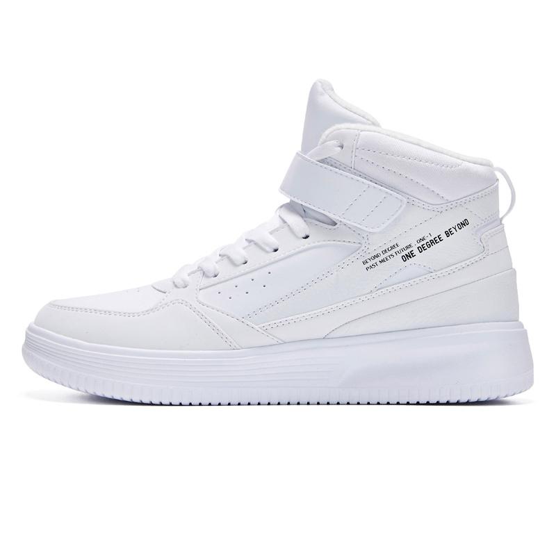 361运动鞋2019新款潮鞋韩版休闲鞋网红小白鞋加绒保暖高帮板鞋男