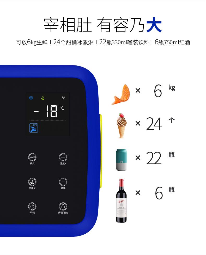Tủ lạnh mini Michelin dùng cho ô tô và gia đình - ảnh 4