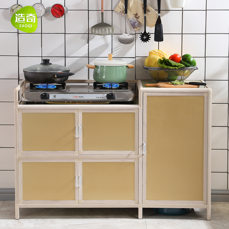 Usd 174 30 Simple Kitchen Stove Cabinet Gas Cooktop Cabinet Gas Tank Gas Tank Storage Cupboard Simple Cabinet Cooktop Cabinet Wholesale From China Online Shopping Buy Asian Products Online From The